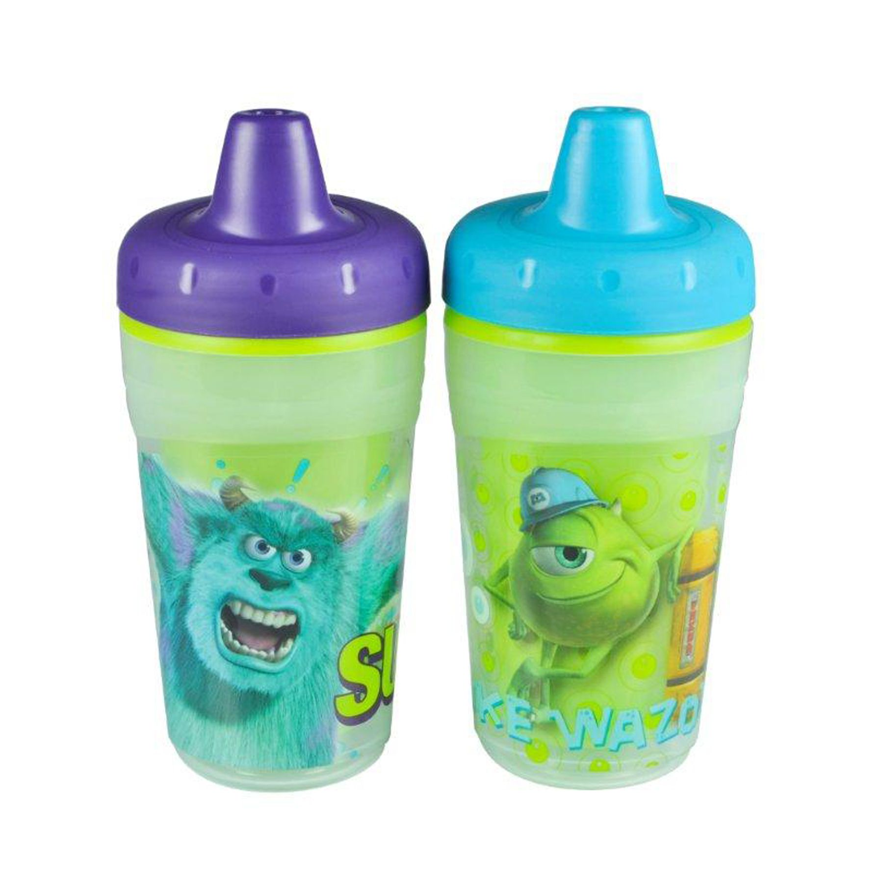 Monsters Inc 2 Pack 9 Oz Color Change Insulated Sippy Cup From The First Years Monsters Inc Baby Sippy Cup Baby Bottles