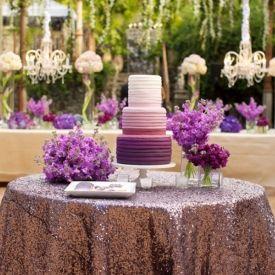 12 Fabulous Ombre Wedding Cakes (Photographer: Anna Kim)