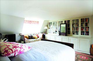 Cozy attic bedroom.