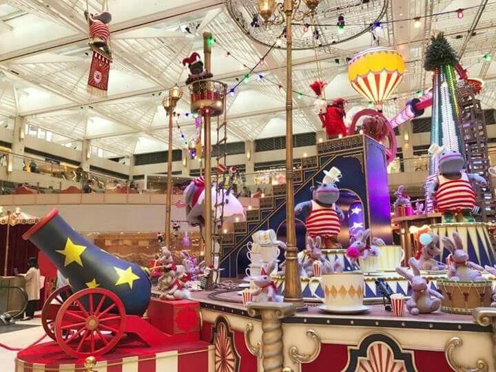 Pp Xmas 16 Hong Kong Mall Design Christmas Decorations Display Design