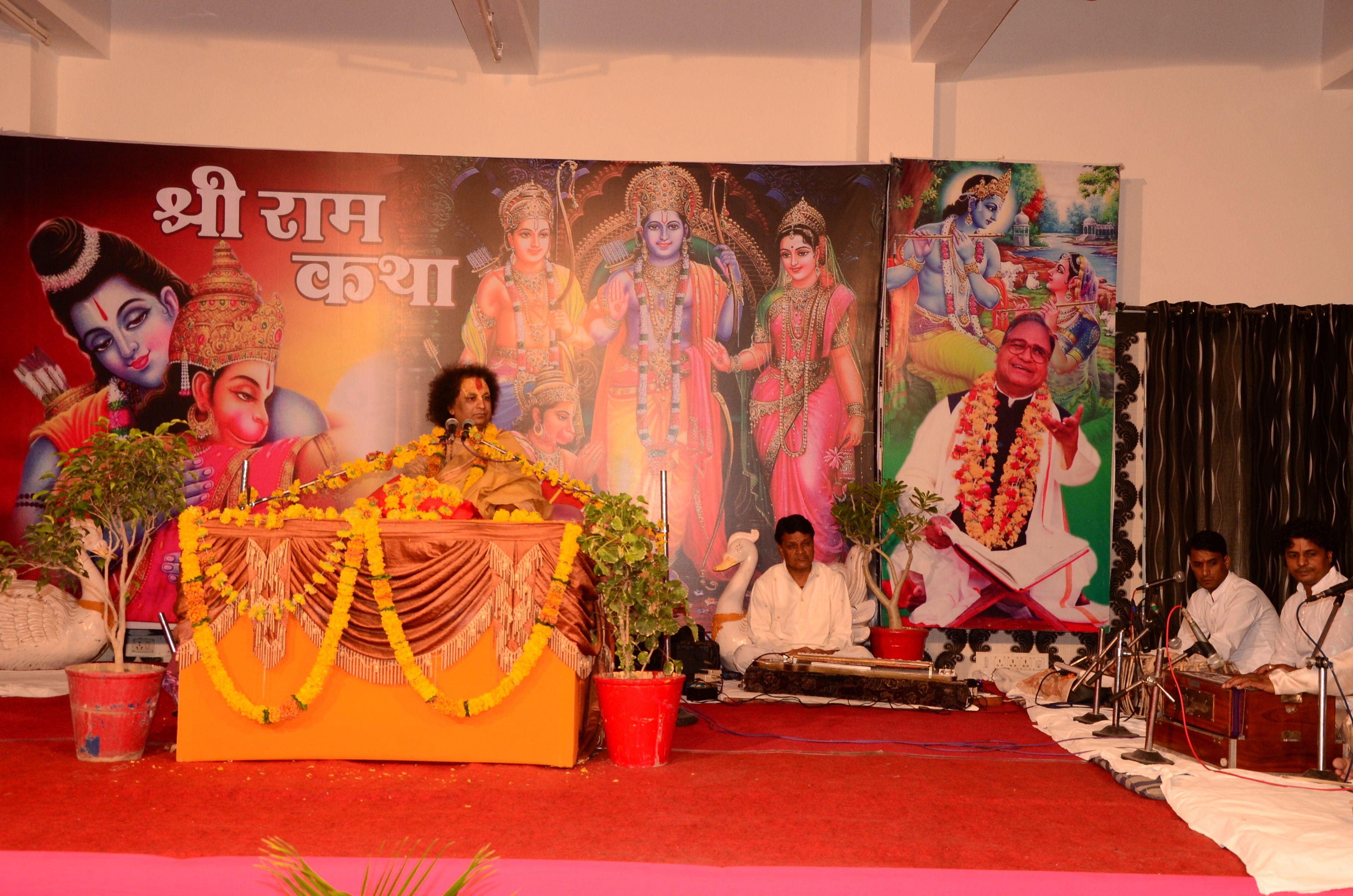 Enjoy Live Shri Ram katha on astha tv from 10 am to 1 pm