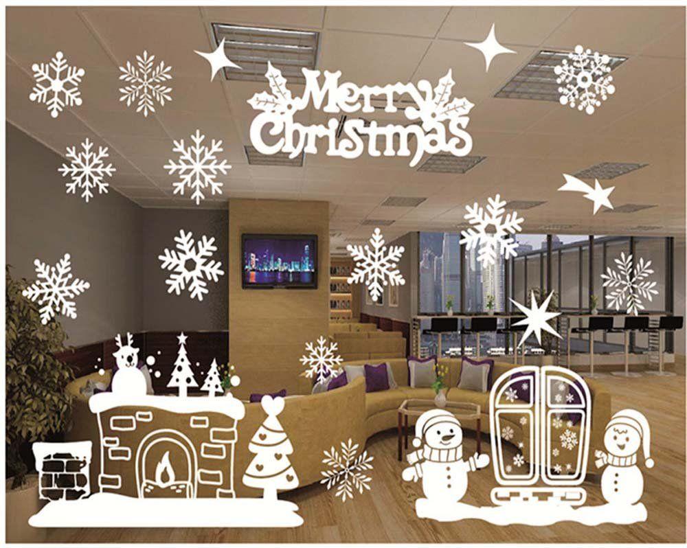 Amazon ウォールステッカー クリスマス 雪だるま 飾り 壁紙シール 2 ウォールステッカー オンライン通販 ウォールステッカー クリスマス 壁紙シール ウォールステッカー