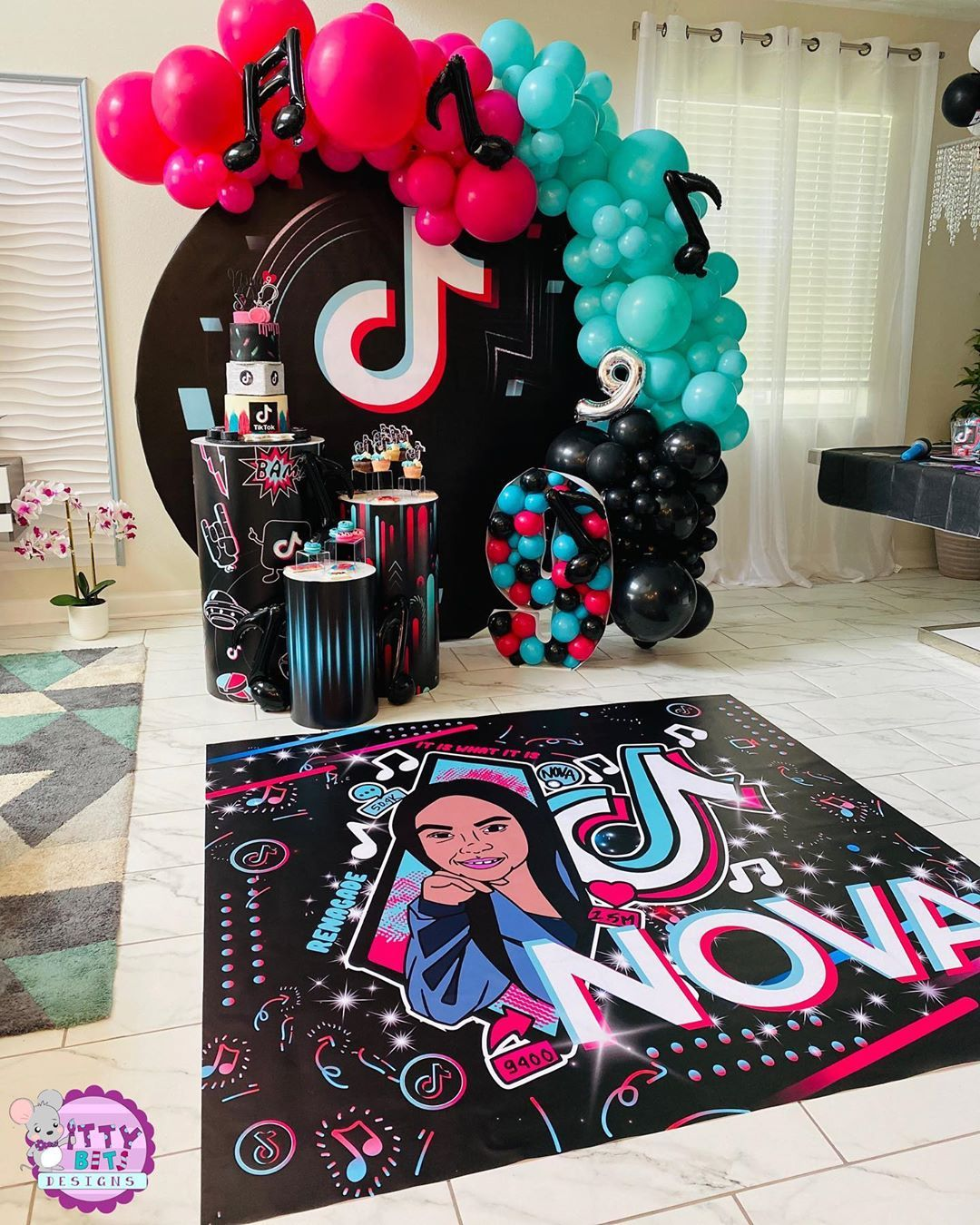 Pin By Sonia Yalibel On Pastel De Cumpleanos Bday Party Kids 12th Birthday Party Ideas Birthday Surprise Party