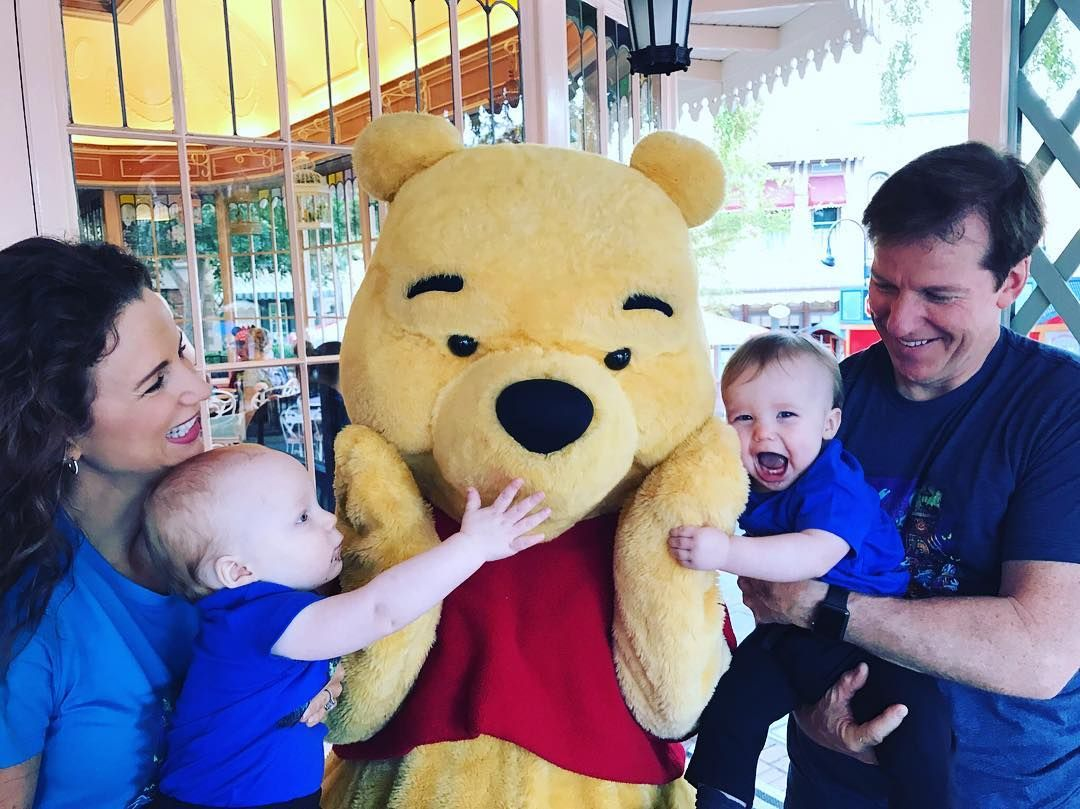 Those two just LOVE Pooh Bear <3 <3