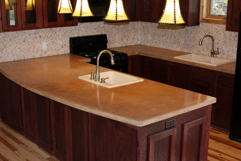 Acid Wash Concrete Countertops Chosen Especially During Hy Flooring Sted Says It