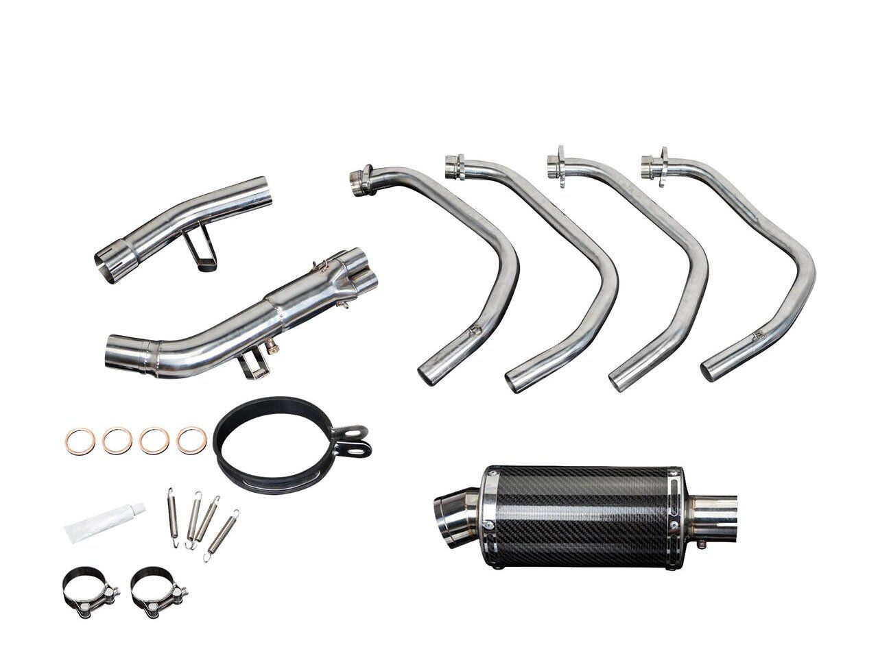 DELKEVIC Suzuki GSF1250 Bandit (07/09, 16) Full Exhaust System with DS70 9