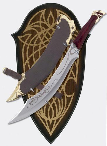 lord of the rings wedding cake knife now this is a cake knife lol elven knife of strider 16937