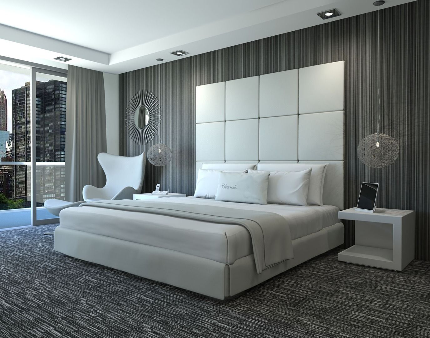 Luxury Modern Sleek Bedroom