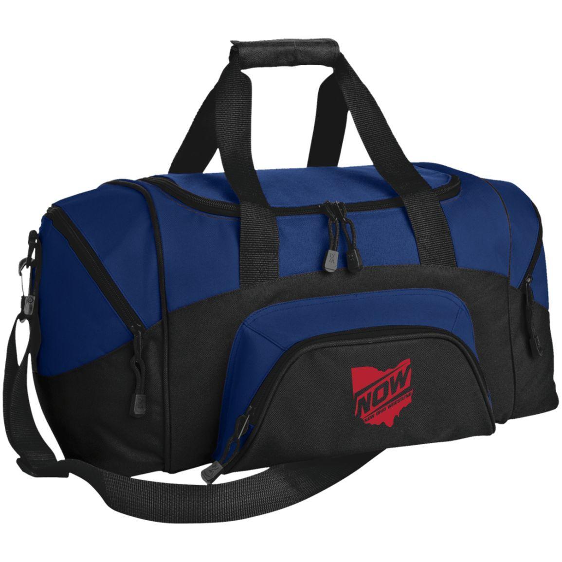 New Ohio Wrestling BG990S Port & Co. Small Colorblock Sport Duffel Bag