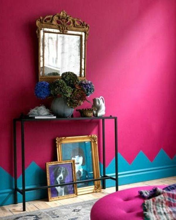 Wohnideen Wandfarben wohnideen wandfarben toll gestalten wanddeko feminin color