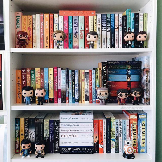 Book Nerd Bookshelf Inspiration Nooks Stuff Bookcases Organization Shelfie Captions