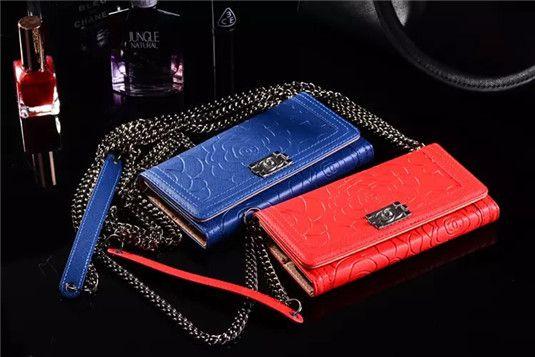 Chanel Tasche Hülle mit Blumenmuster für iPhone 6 und 6 plus - spitzekarte.com