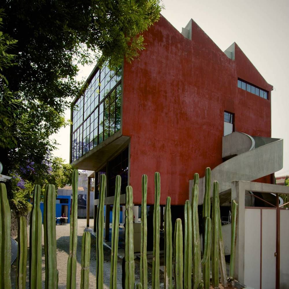 Juan O'gorman Casa Estudio Diego Rivera