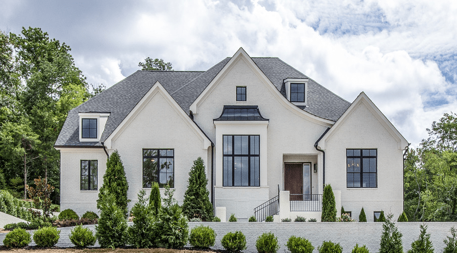 8 Top Exterior Siding Options Pros And Cons Caroline On Design Exterior Siding Options White Stucco House House Exterior