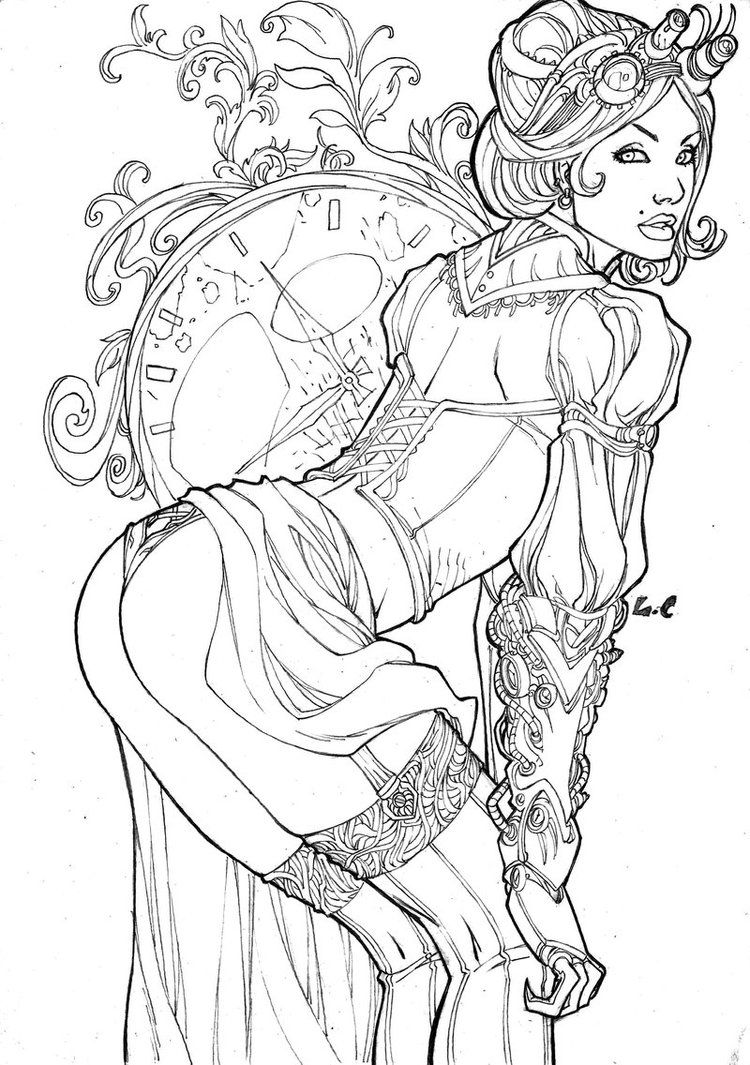 Lady Mechanika by LCFreitas.deviantart.com on @DeviantArt