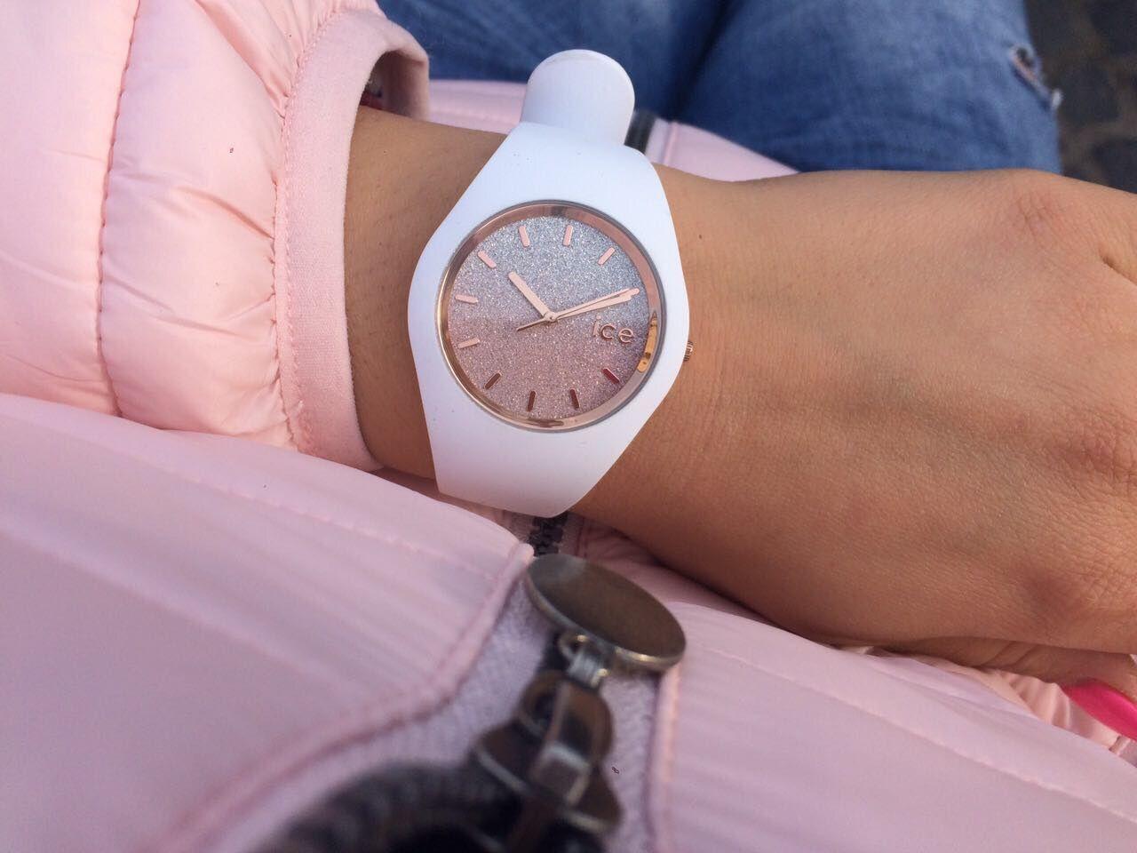 Ice Watch - ICE Io - fehér rózsaszín - medium (M) 013 431  0ba8fe6a34
