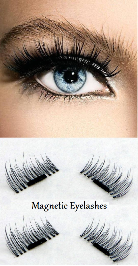 """3878f4e3213 Who says glamorous lashes can't look natural? Magnetic False Eyelashes give  you luxurious length and volume, without that """"false lash"""" effect."""