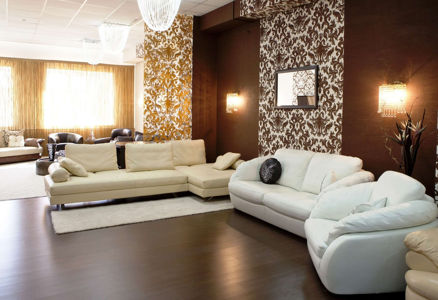 Best 15 Beautiful Living Room Wall Wallpaper Design Ideas For 400 x 300