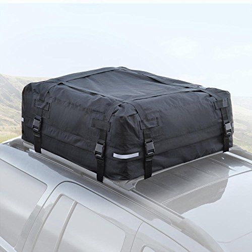 BDK TopHaul Waterproof Roof Top Cargo Bag XL For Car Auto SUV Van
