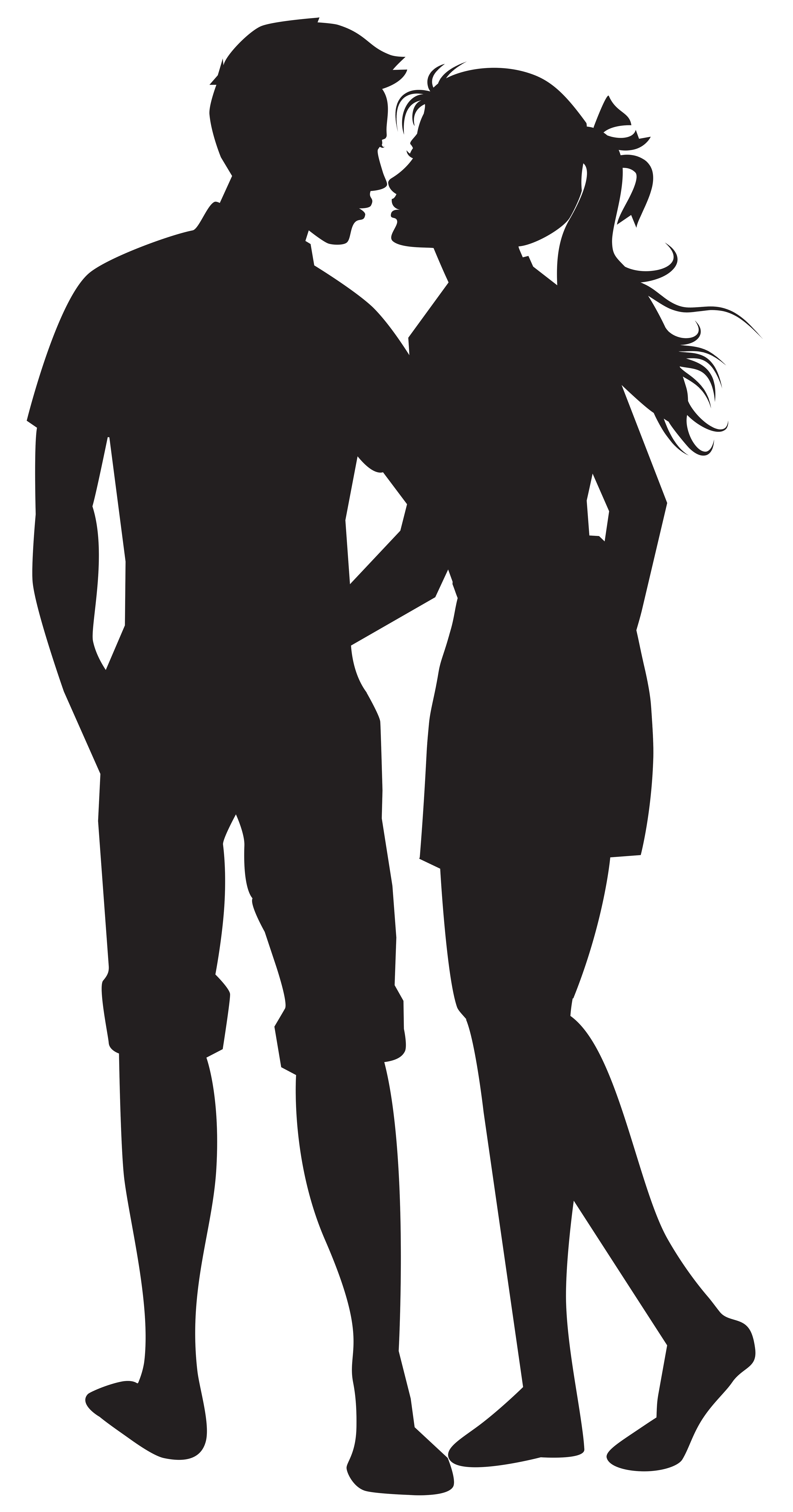 Couple Png Silhouettes Clip Art Image Silhouette Clip Art Silhouette Painting Silhouette Art