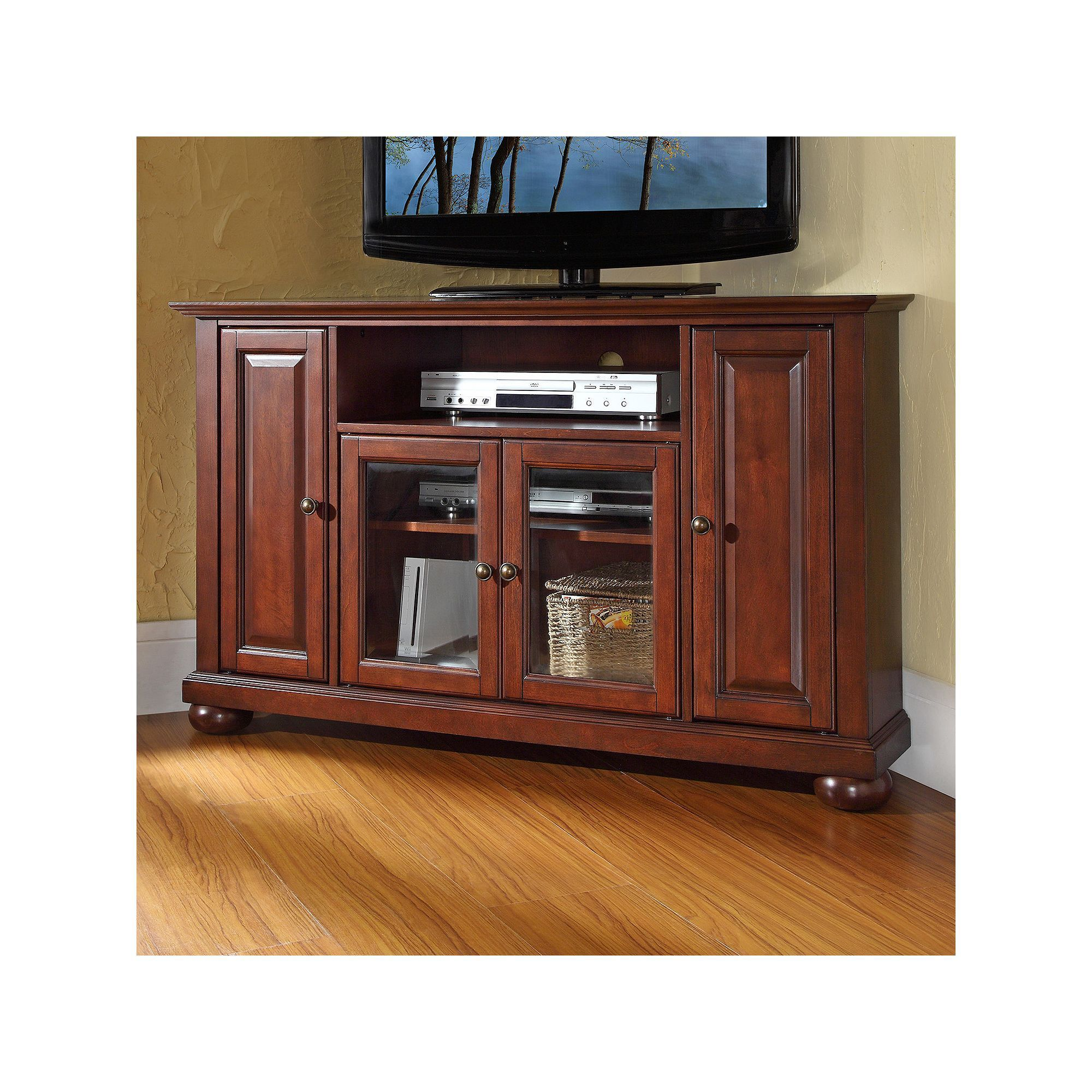 Crosley Furniture Alexandria Corner Tv Stand Products Corner Tv