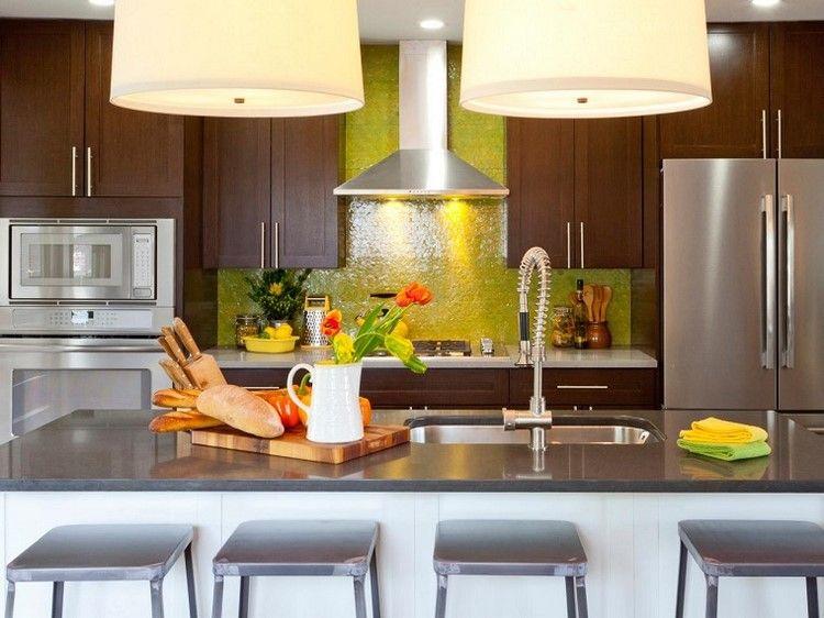 Paneles decorativos: 50 ideas para la pared de la cocina   Ideas ...