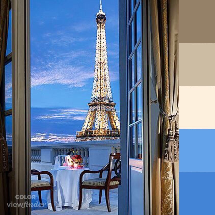 5 Vista De La Torre Eiffel Desde Balc Paleta