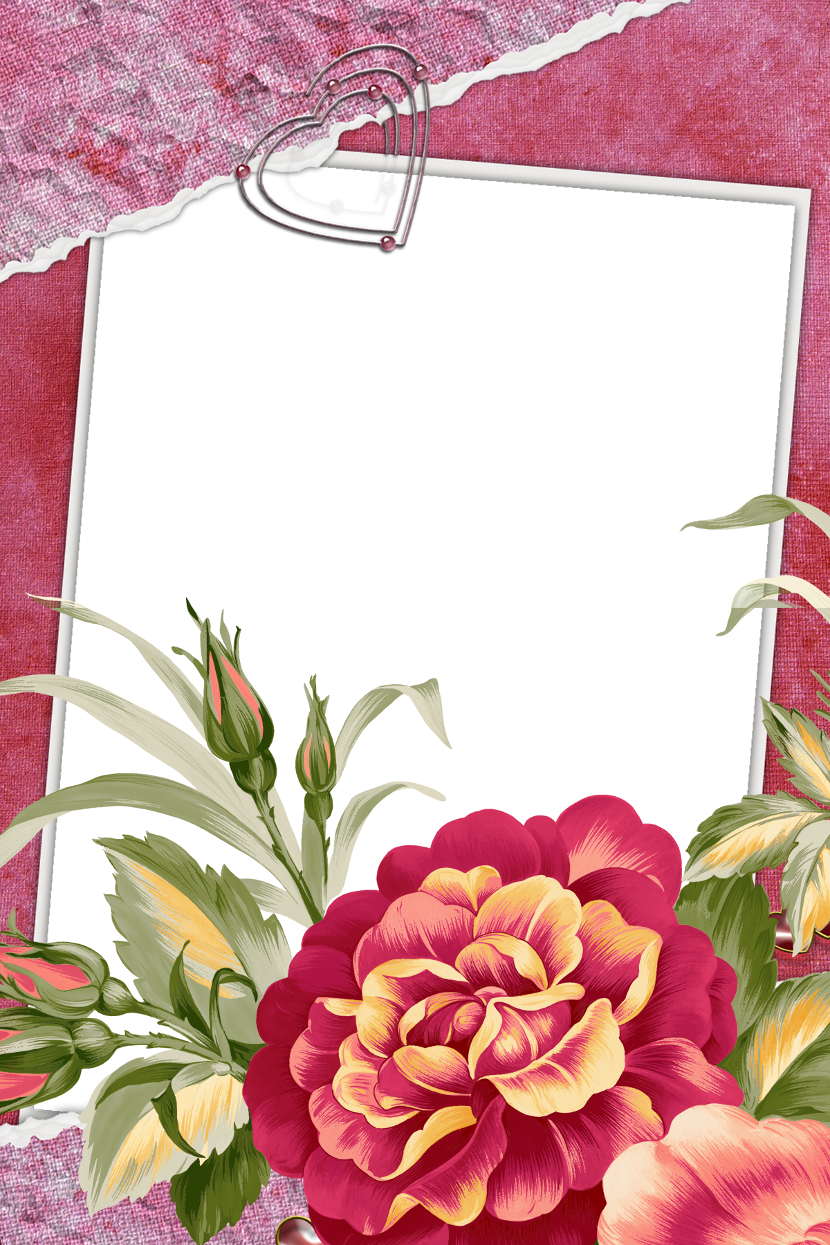 Large red transparent frame with beautiful flower ideas for the large red transparent frame with beautiful flower izmirmasajfo