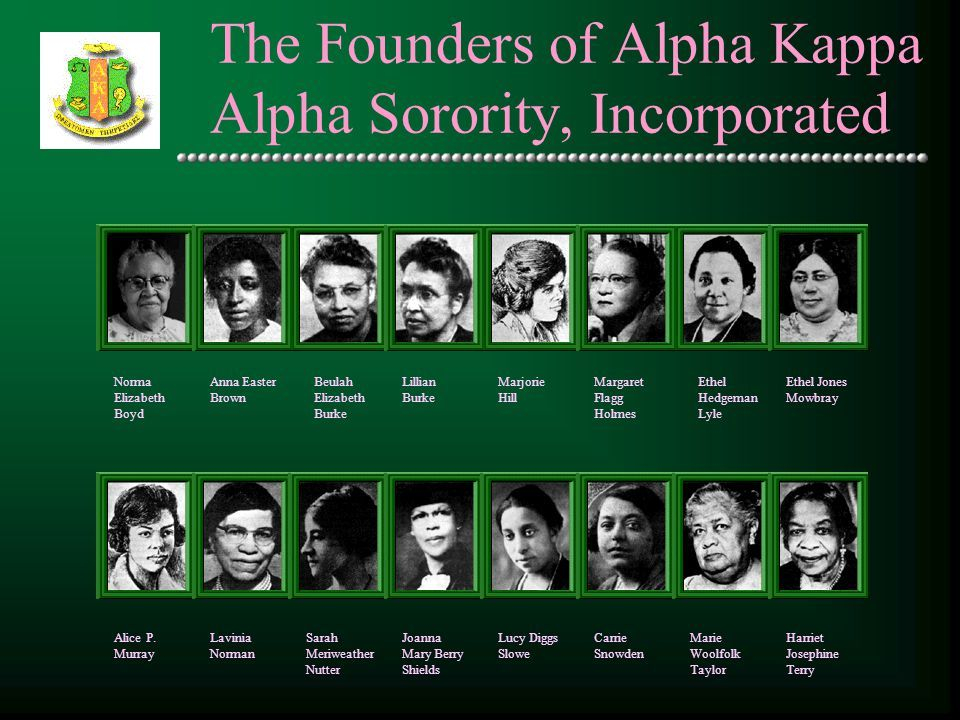 alpha kappa alpha pledge book