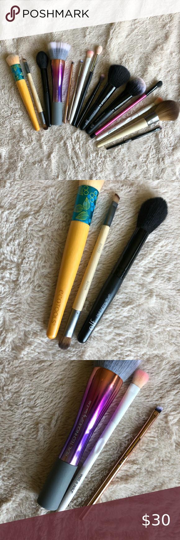 Huge Makeup Brush Bundle in 2020 Real techniques bronzer