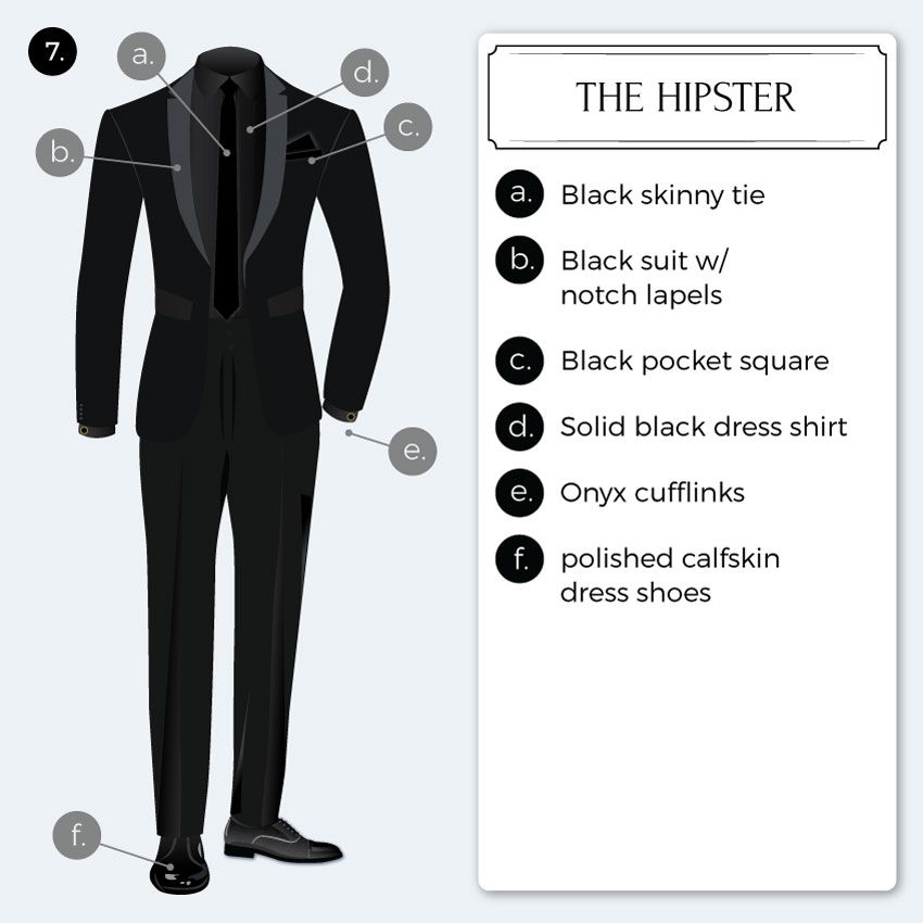2019 Black Tie Optional Dress Code Guide Men Black Tie