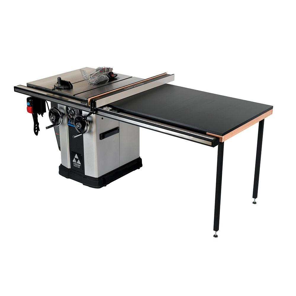 Delta 3 Hp Left Tilt Unisaw Table Saw With 52 In Biesemeyer Fence System 36 L352 Delta Table Saw Table Saw Table Saw Fence