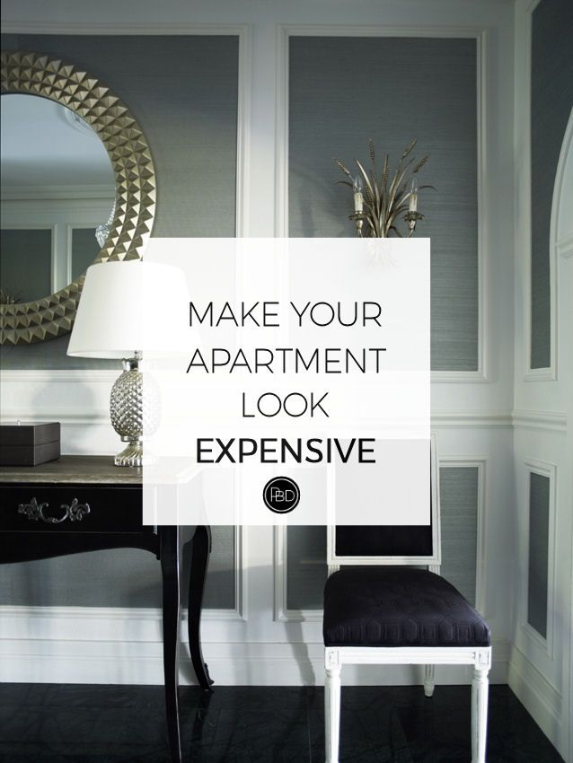 How To Make Your First Apartment Look Expensive First