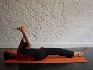 half happy baby howto tips benefits  restorative yoga