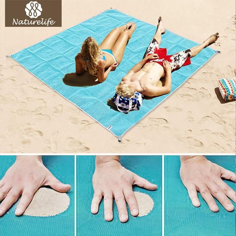 Sand Free Beach Mat Blanket Sand Proof Magic Sandless Outdoor Blanket Portable Picnic Mat Sports & Entertainment Camping & Hiking