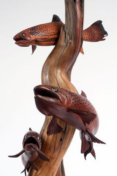 Tom Dean Art, Fish Carvings and Sculptures