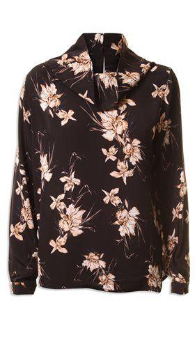 Minus - Cari Blouse - Skøn blomsterprintet bluse