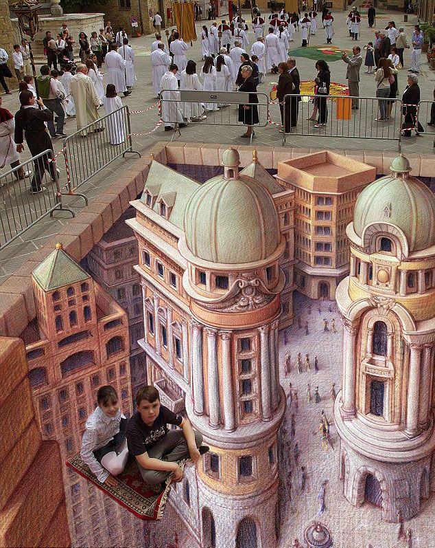 17 Best images about 3D Street Art Illusions on Pinterest ...