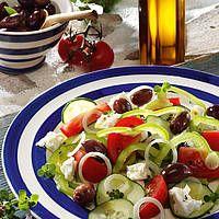 Griechischer Salat mit Feta Rezept - leckere Rezepte bei |real.de