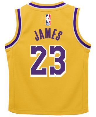 buy online 69f96 51e64 Nike LeBron James Los Angeles Lakers Icon Replica Jersey ...