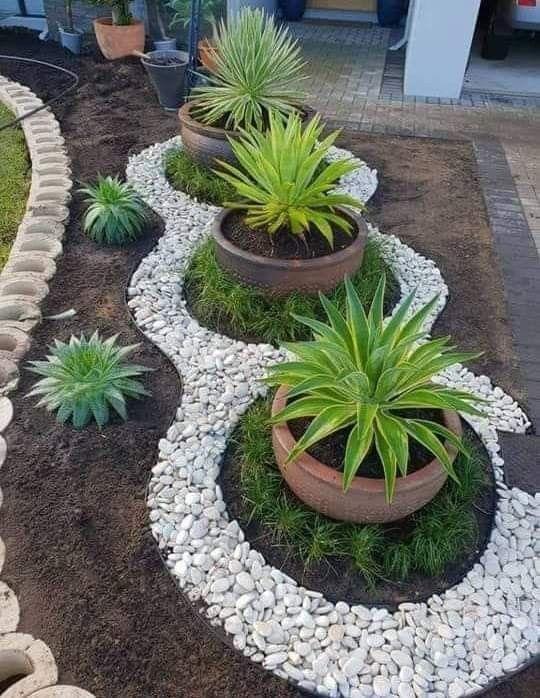 18 Wundervolle Landschaftsgestaltung und Gartengestaltung #smallfrontyardlandscapingideas