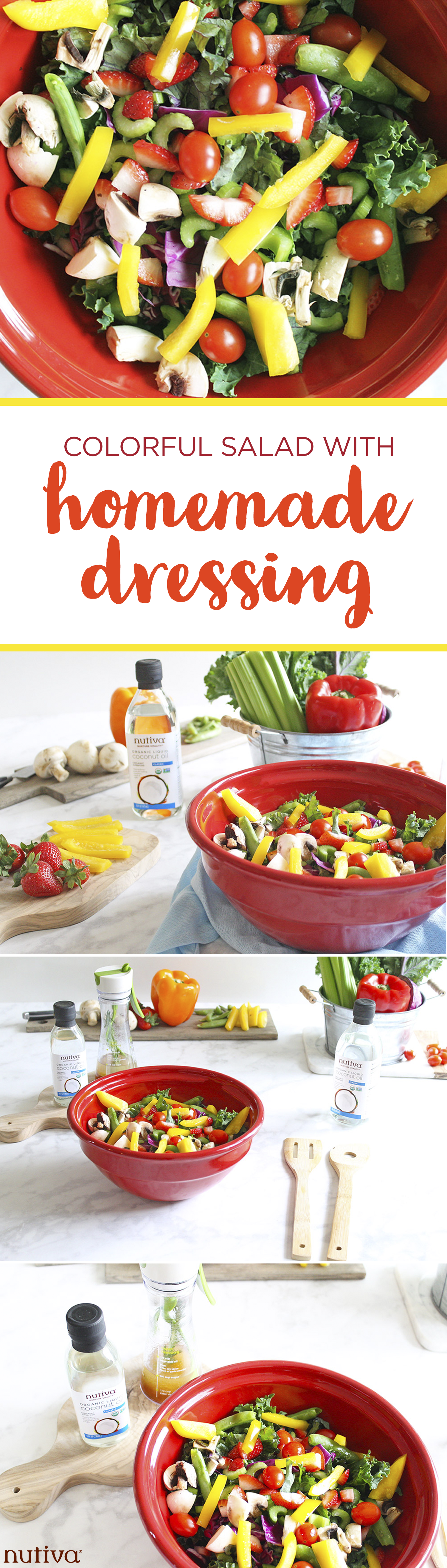 Homemade Vinaigrette Salad Dressing