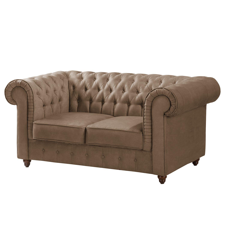 Sofa Pintano 2 Sitzer Sofas Sofa Sofa Leder Braun