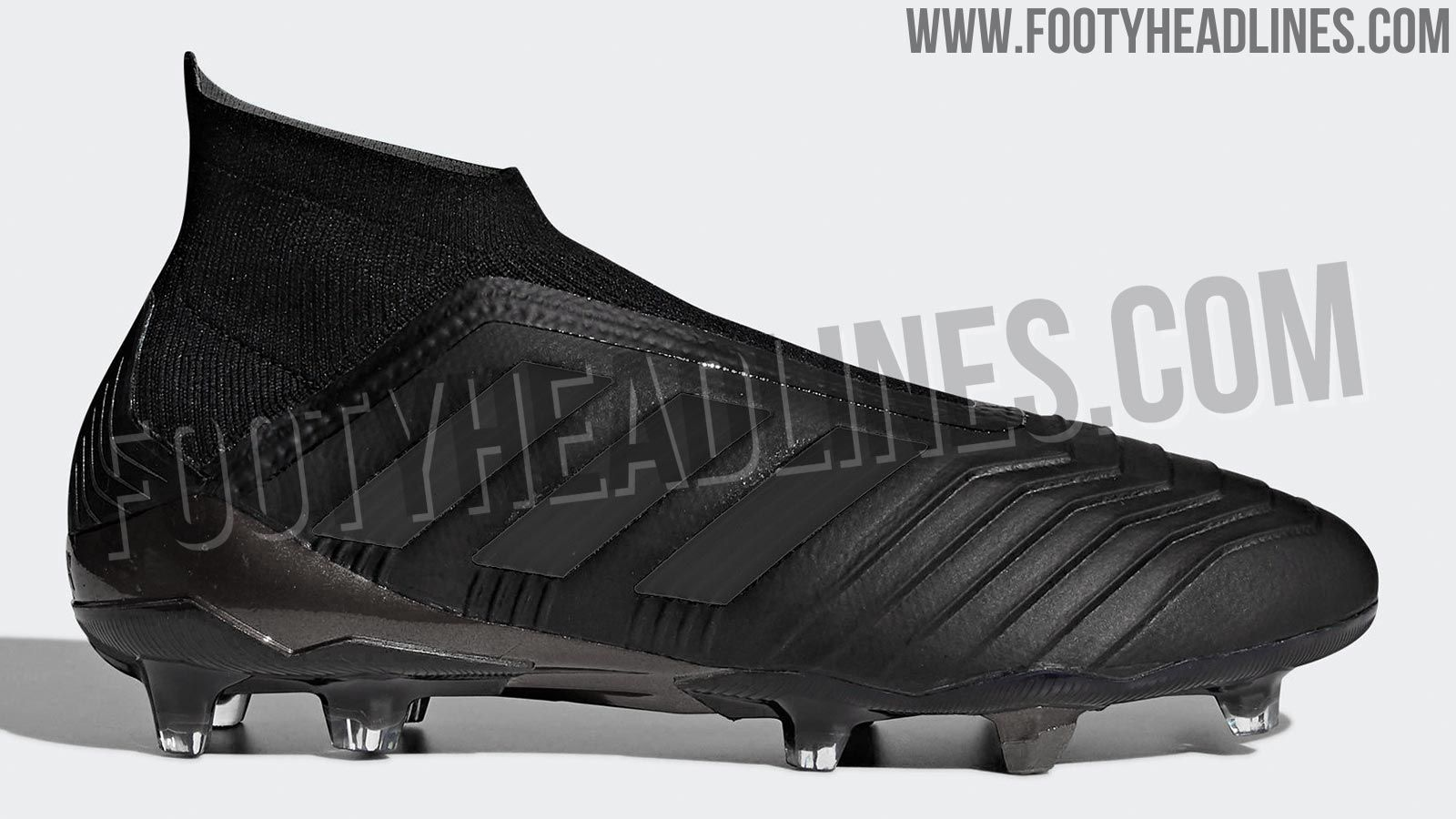 The Adidas Predator 18+ Nitecrawler football boots introduce a stealth look  to the latest iteration