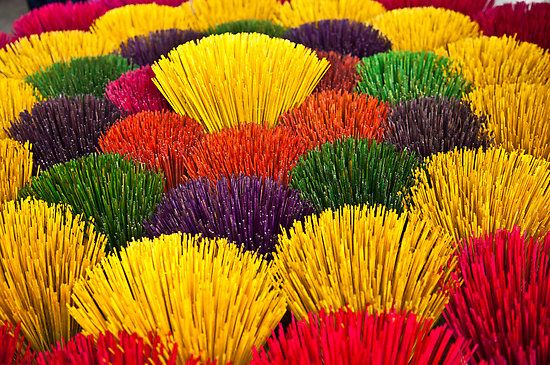 Buckets Of Incense Sticks By Janette Anderson Incense Sticks Incense Color