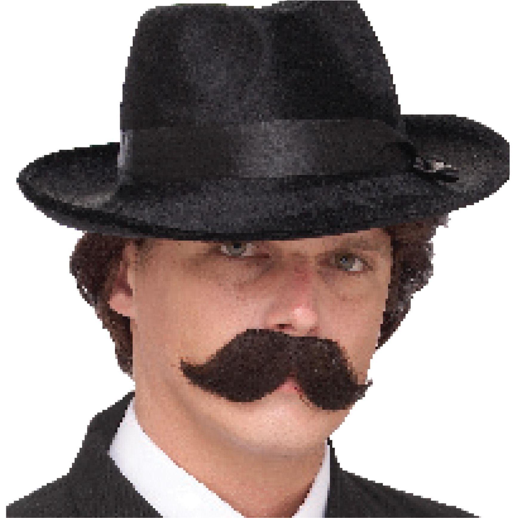 Mustache The English Black Mustache Black Costume Accessories