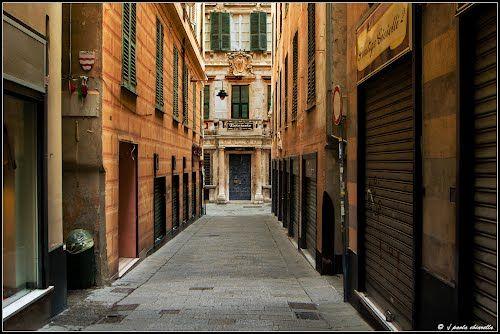 Genova Via Scurreria -  Palazzo Ottavio Imperiale - Paola Chiarella