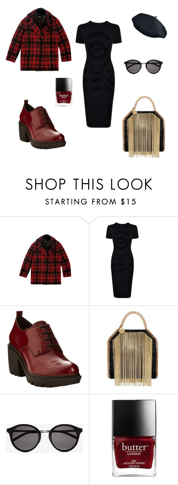 """Untitled #14"" by tracy-mizo ❤ liked on Polyvore featuring McQ by Alexander McQueen, Opening Ceremony, STELLA McCARTNEY and Yves Saint Laurent"