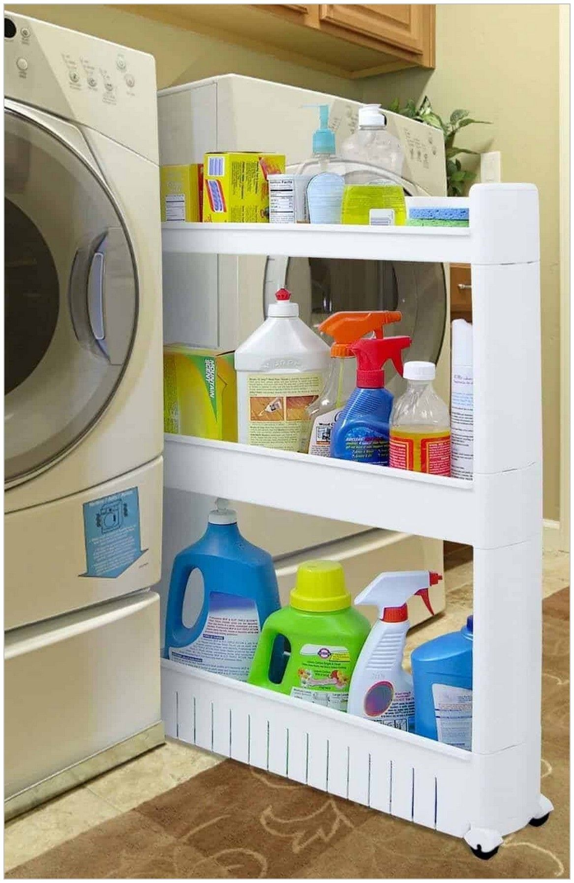 Laundry room organization has come a long way. From dark and disorganized, to bright and functional; laundry room's are now a focal point in the home.  #LaundryRoomOrganization #LaundryRoomDesign #StorageOrganization #StorageIdeas #OrganizedLaundryRooms #OrganizedHome #LaundryDetergentStorage #OrganizationIdeasForTheHome #OrganizedBedroom