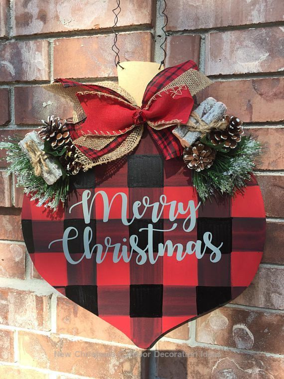 23 Christmas Outdoor Decoration Ideas Are Worth Trying Signs